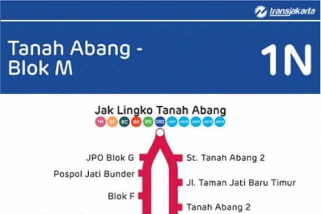 47115 medium transjakarta membuka rute baru tanah abang   blok m