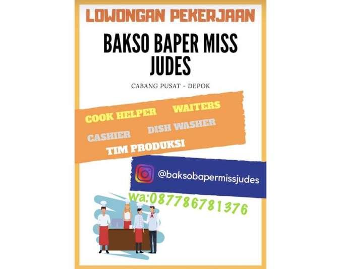 47502 medium lowongan kerja dibutuhkan karyawan pria di bakso baper miss judes