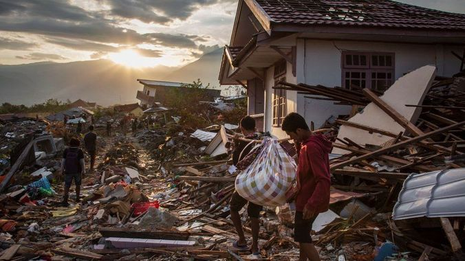 48109 medium korban jiwa bencana alam di palu capai 4.340 jiwa