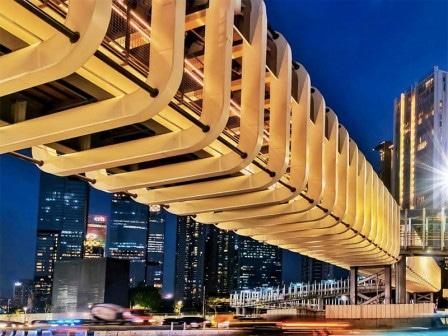 48712 medium jpo kekinian di jalan sudirman diharapkan jadi daya pikat baru wisatawan