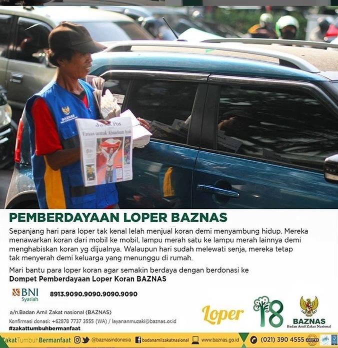 49297 medium mari bantu para loper koran agar semakin berdaya dengan berdonasi ke dompet pemberdayaan loper koran baznas