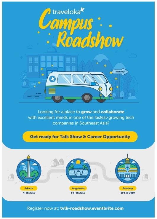 50002 medium traveloka campus roadshow 2019 di 3 kota