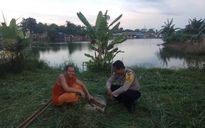 50624 medium polisi silaturahmi ke vihara budhajayanti