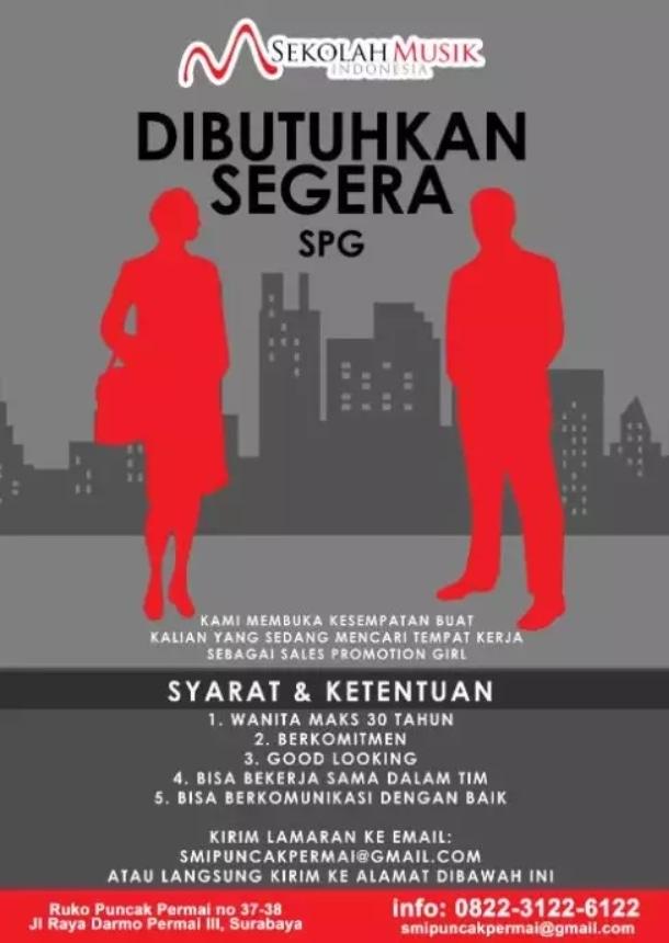 51839 medium %28lowongan kerja%29 dicari spg event di sekolah musik indonesia %28wawancara langsungwalk in inteview%29