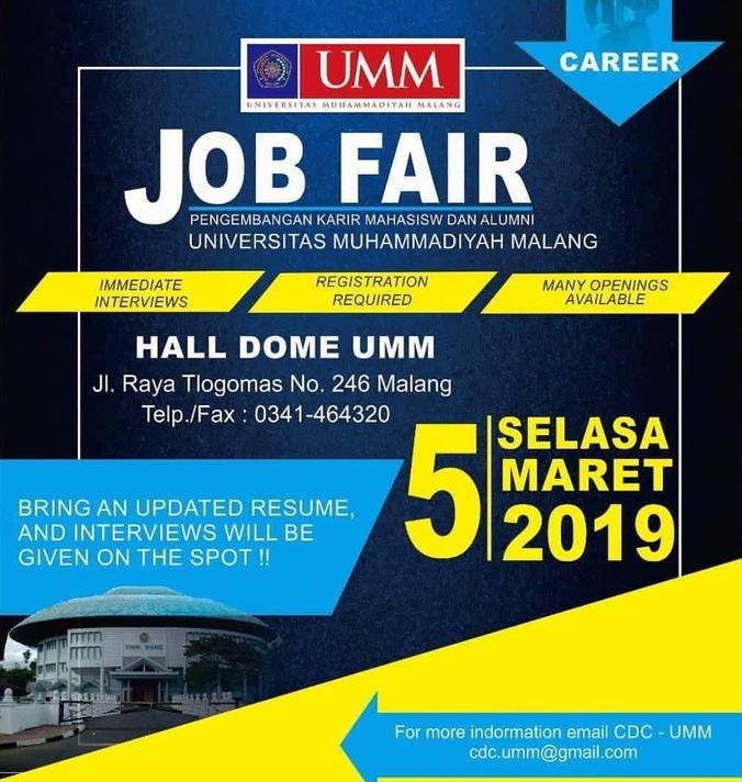 52279 medium job fair umm %e2%80%93 maret 2019