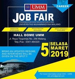 52279 small job fair umm %e2%80%93 maret 2019