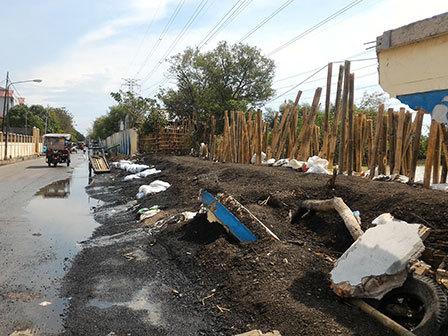 5355 medium warga minta perbaikan tanggul jebol di pelabuhan muara angke