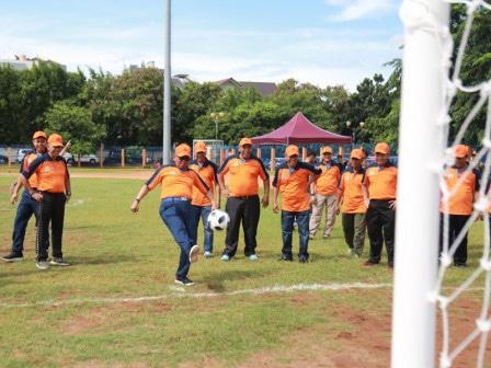 55216 medium festival olahraga rakyat cabor futsal di jakut resmi dibuka