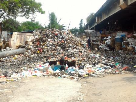 5559 medium warga keluhkan sampah di tps bulak teko