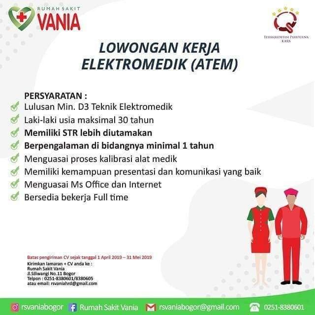 Info Loker Rumah Sakit Bogor