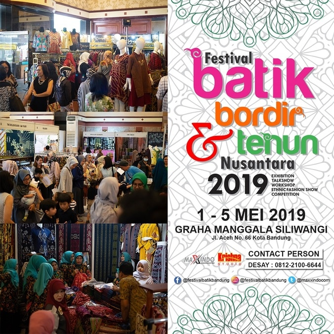 57005 medium festival batik bordir   tenun nusantara 2019