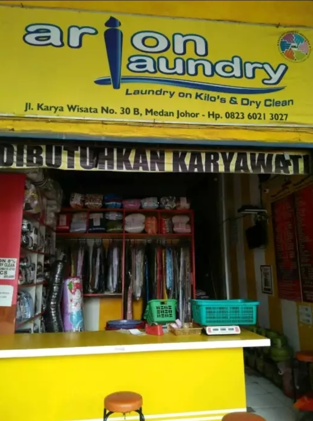 57236 medium %28lowongan kerja%29 dicari karyawan laundry wanita di arion laundry kota medan %28wawancara langsungwalk in interview%29