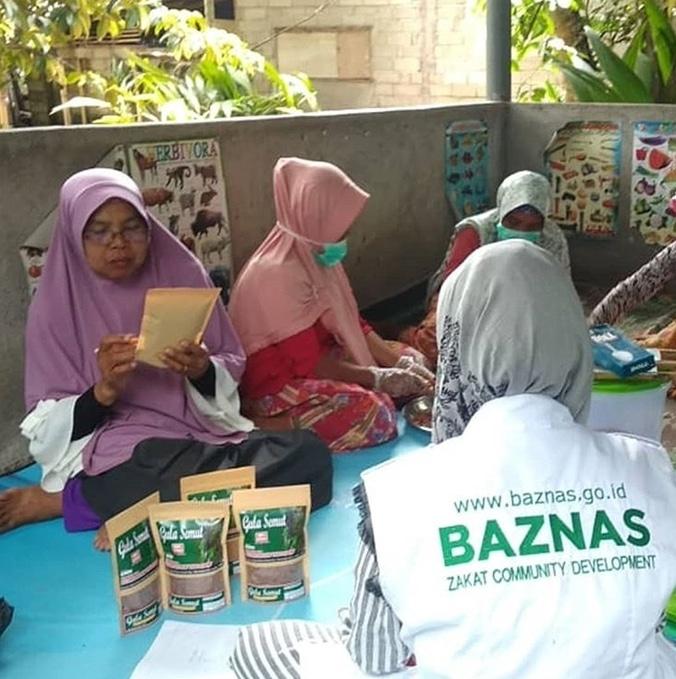 58047 medium program pemberdayaan pengrajin gula semut baznas