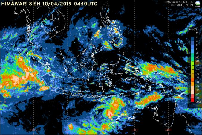 58052 medium waspadai dampak siklon tropis wallace  potensi gelombang tinggi