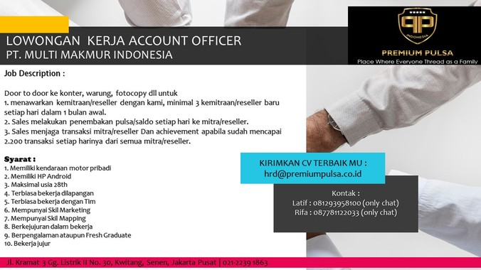 58105 medium account officer