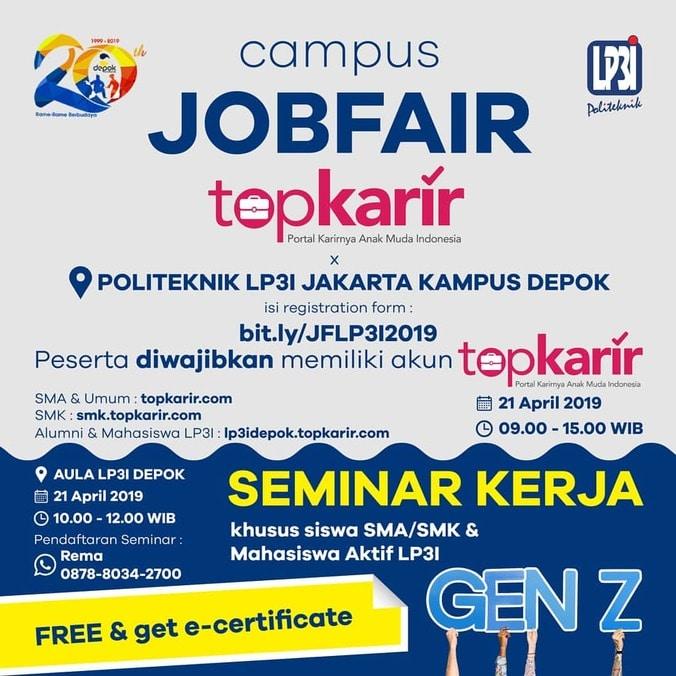 58920 medium campus job fair lp3i jakarta %e2%80%93 maret 2019