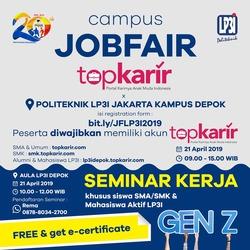 58920 small campus job fair lp3i jakarta %e2%80%93 maret 2019