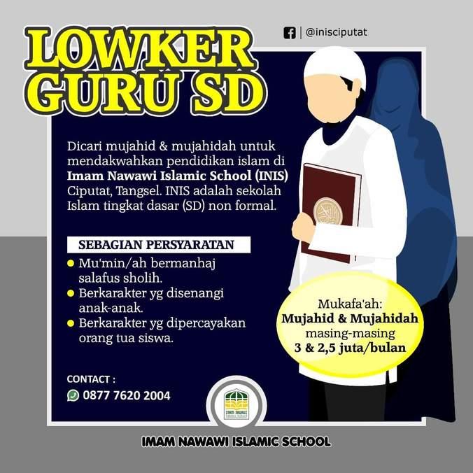 Lowongan Kerja Guru Sd �������� �������� Di Tangerang Selatan Kota 18 Apr 2019 Loker Atmago Warga Bantu Warga