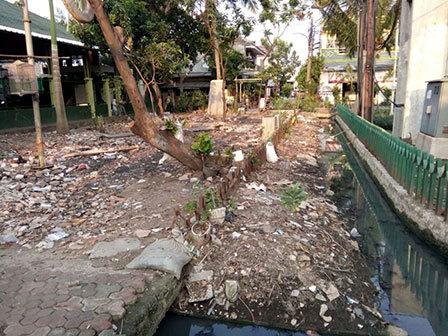 5916 medium warga kapuk keluhkan kondisi taman kodok