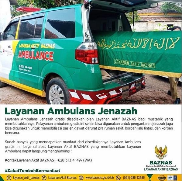 59578 medium baznas sediakan layanan ambulans jenazah gratis bagi mustahik yang membutuhkan