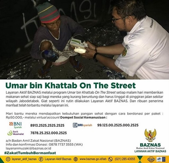 59767 medium layanan aktif baznas melalui program umar bin khattab on the street