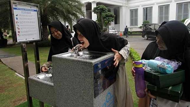 60377 medium keran air siap minum akan disediakan di 30 titik