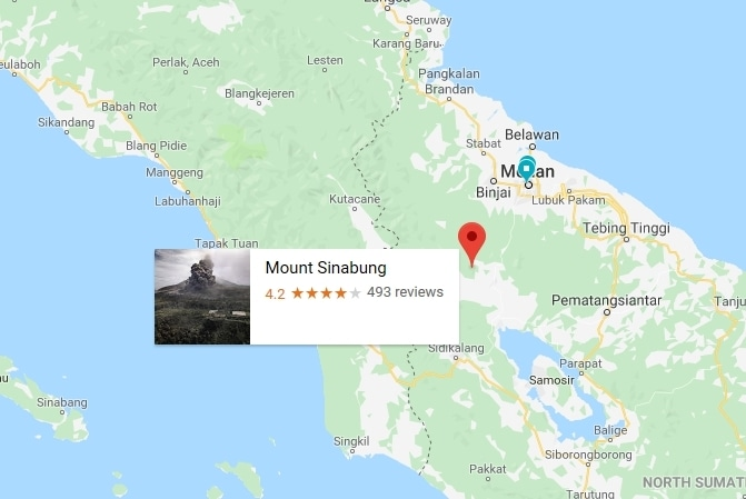 60643 medium gunung sinabung kembali erupsi  tinggi kolom erupsi hingga 2.000 meter