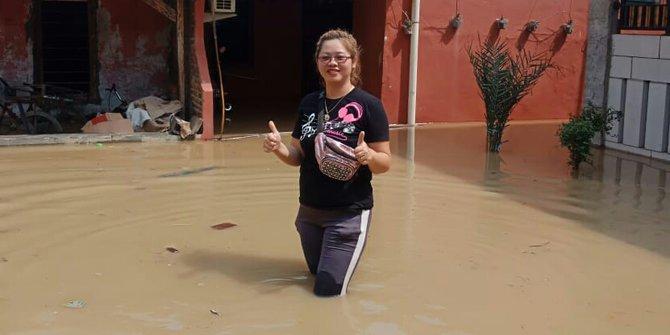 60937 medium banjir melanda delapan titik di bekasi