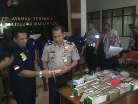 619 medium polisi bekuk 6 pencuri aliran listrik