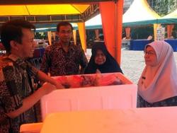 62035 small bazar pangan murah di kantor dinas kpkp berlangsung hingga besok