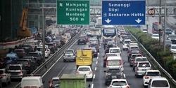 62078 small pengalihan arus lalu lintas di sekitar kpu  bawaslu  dan mk ditutup