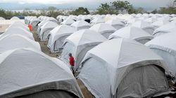 62315 small sebanyak 6.655 korban gempa palu masih hidup di tenda tenda