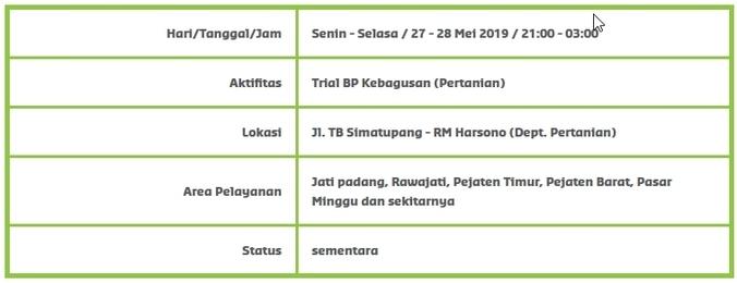 62441 medium info gangguan pdam   jati padang  rawajati  pejaten timur  pejaten barat  pasar minggu dan sekitarnya %2827 28 mei 2019  2100 0300 wib%29