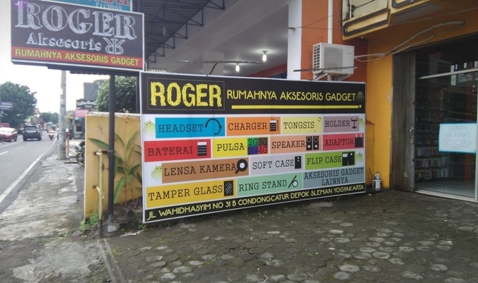 62555 medium gerai roger aksesoris