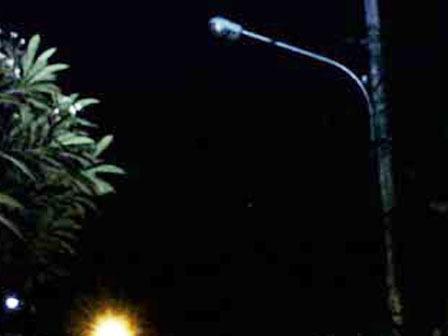 625 medium puluhan lampu pju di jl yos sudarso padam