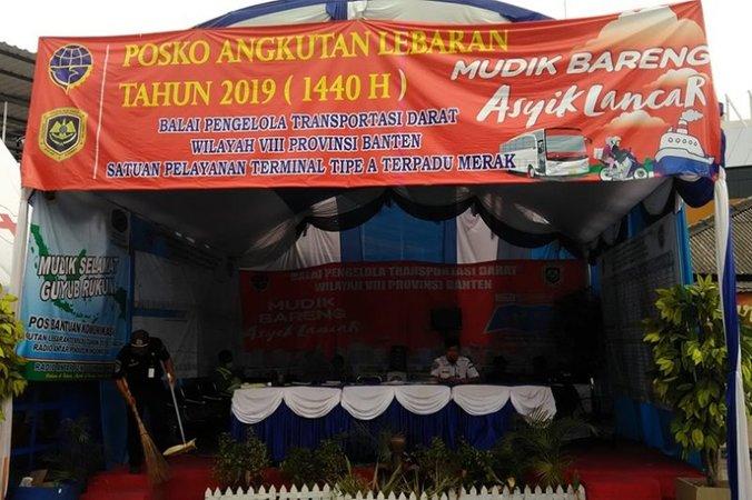 63111 medium bpbd lebak buka posko siaga bencana selama lebaran