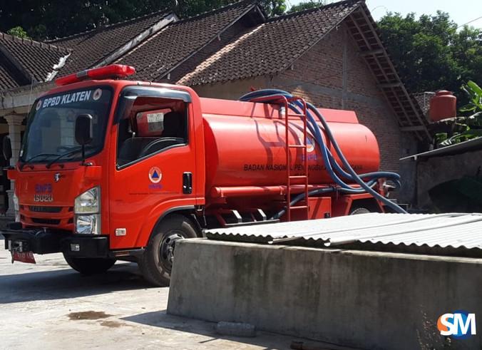 63589 medium siaga kekeringan  pemkab klaten drop bantuan air