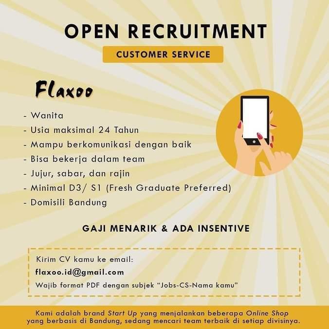 Lowongan Kerja Customer Service Bandung