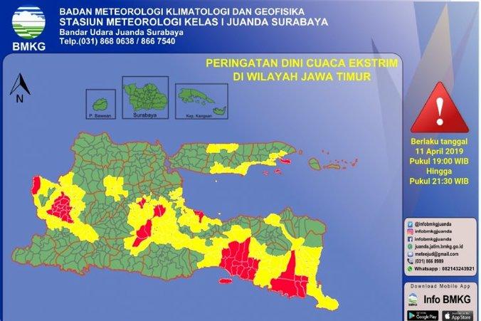 63687 medium bmkg perkirakan sejumlah daerah jatim berpotensi kekeringan