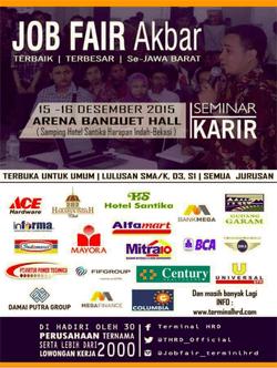 636 small job fair akbara harapan indah bekasi