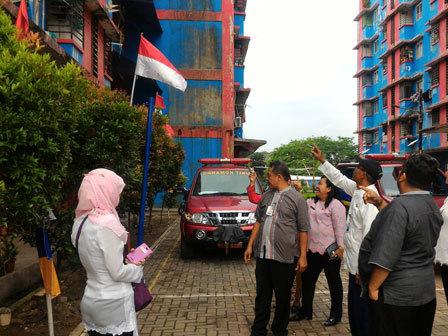 6412 medium rusun dinas pkp di cengkareng banyak kerusakan