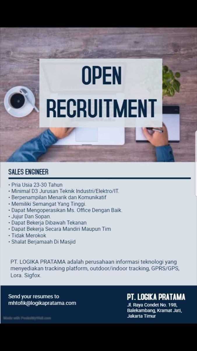 Lowongan Kerja Sales Engineer 𝙈𝙊𝙃𝘼𝙈𝙈𝘼𝘿 𝙅𝘼𝙀𝙉𝙐𝘿𝙄𝙉 Di Jakarta Timur 21 Jun 2019 Loker Atmago Warga Bantu Warga