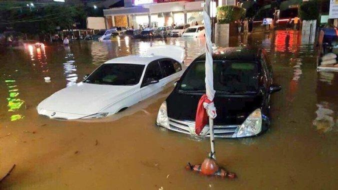 6437 medium hujan deras timbulkan genangan di 24 titik kemarin