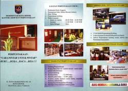 649 small perpustakaan umum pemerintah kota depok