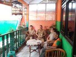 65307 small nuansa betawi hiasi kantor satpel lh kecamatan gambir