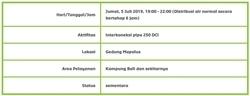 65630 small info gangguan pdam jakarta   kampung bali dan sekitarnya %28jumat  5 juli 2019  1900   2200 wib%29