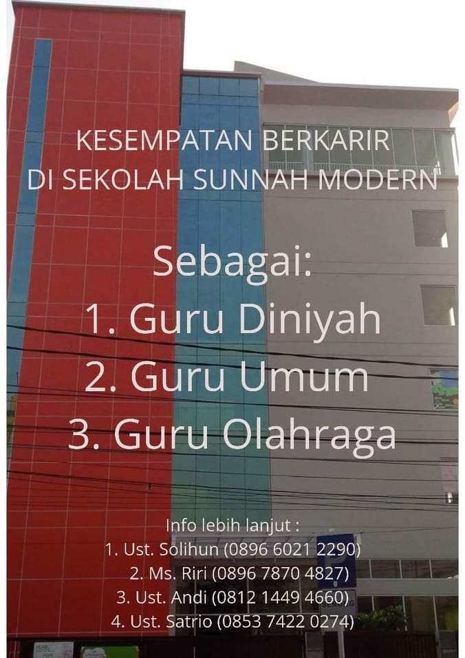 Lowongan Kerja Guru SD Nabawi Islamic School - �������� ...
