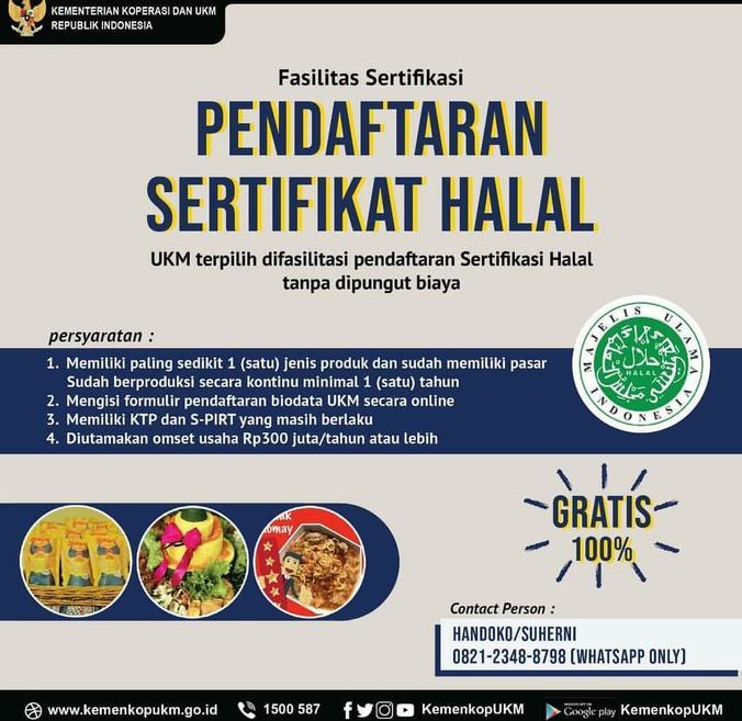 65809 medium pendaftaran sertifikat halal