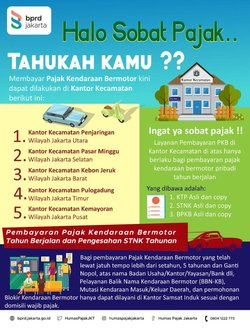 66317 small bayar pajak kendaraan bermotor kini dapat dilakukan di kantor kecamatan