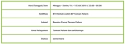 66615 small info gangguan pdam jakarta   taman palem dan sekitarnya %28senin  14 15 juli 2019  2200 0500 wib%29